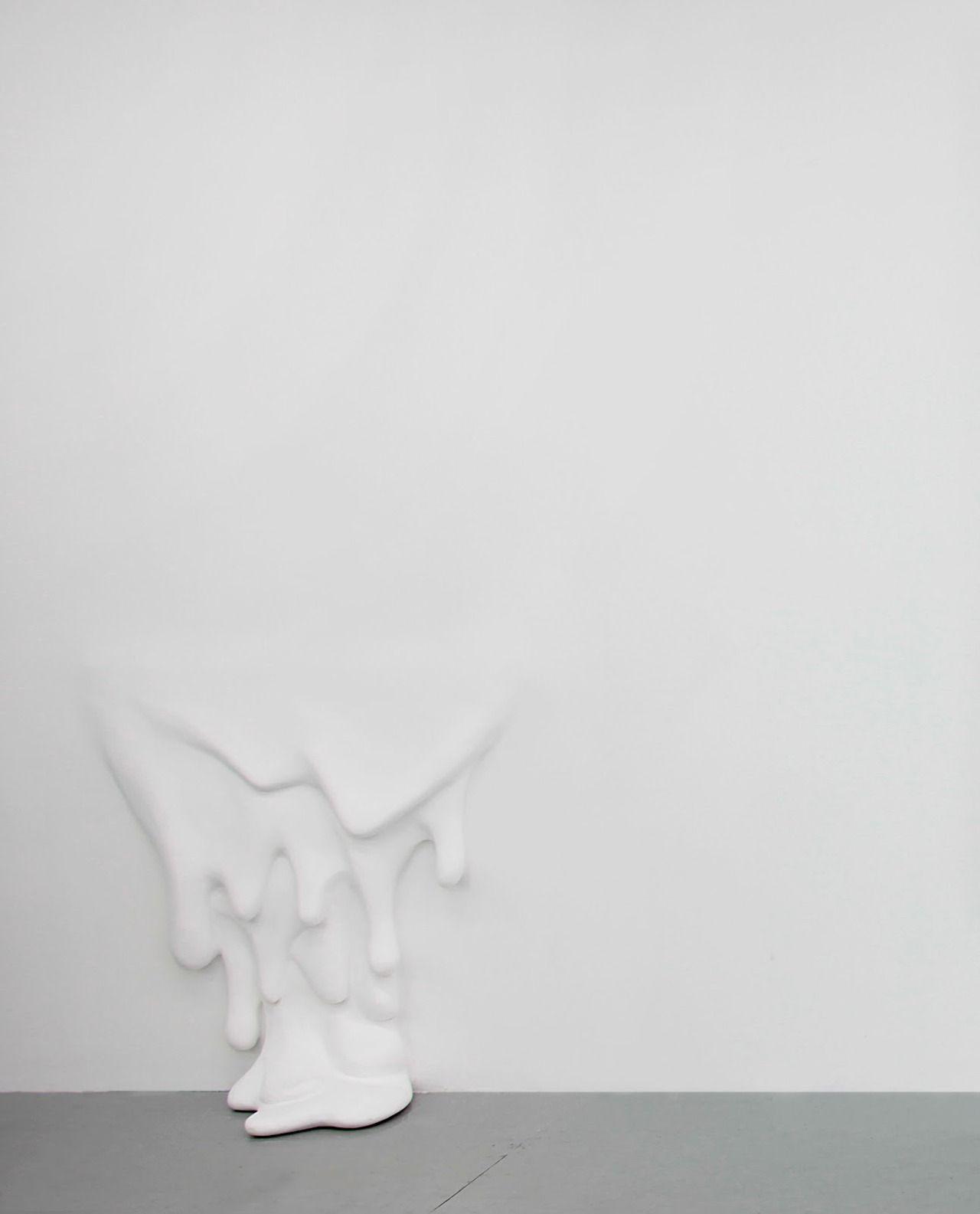 Daniel Arsham, Floor Drip.