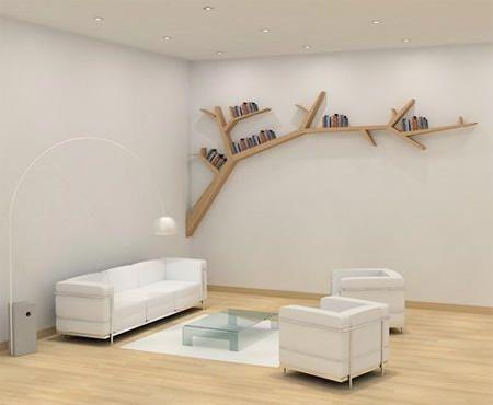 Branch Bookshelf,Bookshelf designTree Branch Bookshelf
