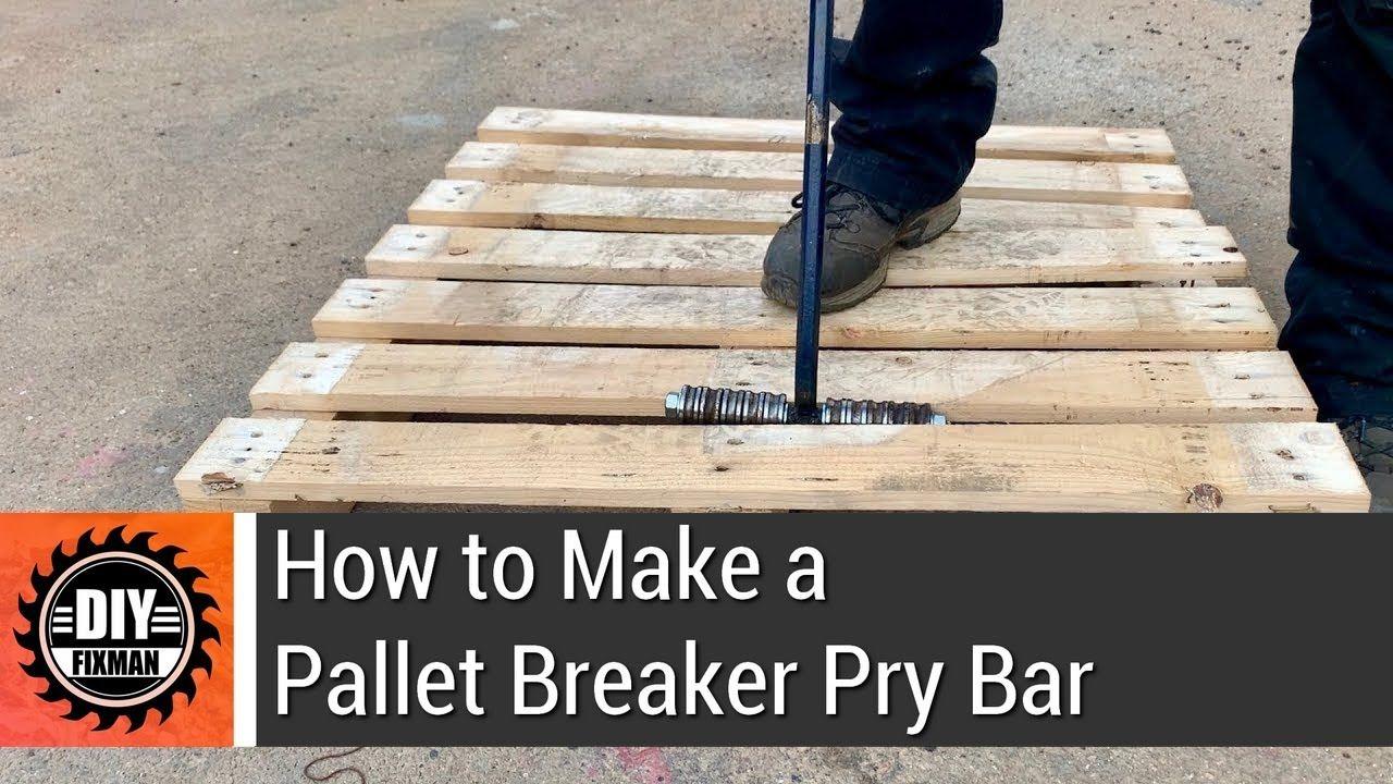 How To Make A Pallet Breaker Pry Bar Pallet Breaker Pallet Pry Bars