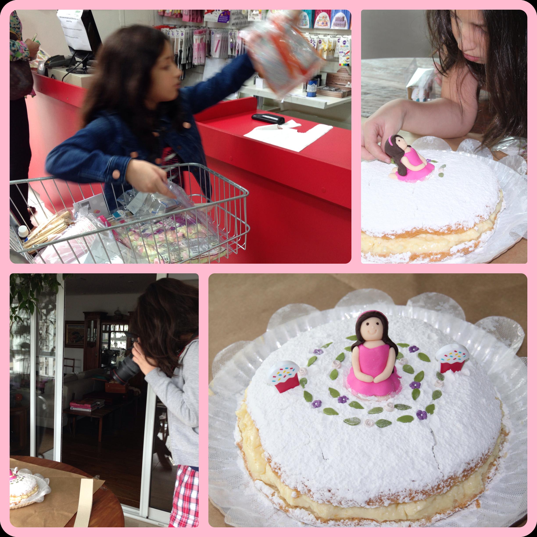 Bolo com Alma - Confeitando um bolo de aniversário