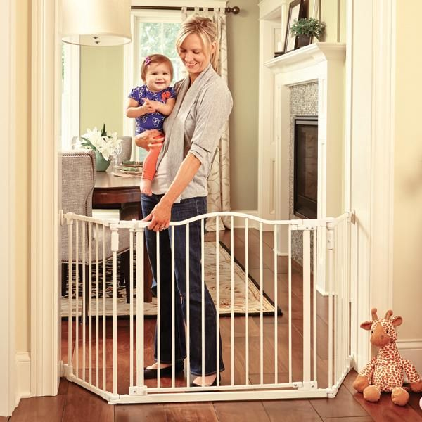 Extra Wide Baby Gate, Long Baby Gates, Walk Through Baby Gate, Best Baby  Gate, Gate For Baby