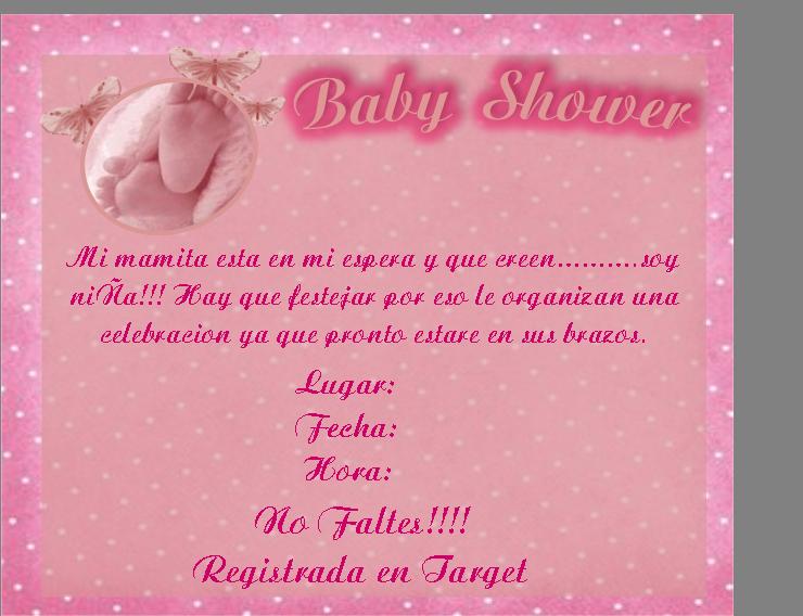 Invitaciones Para Baby Shower Modernas Tarjetas Para Baby