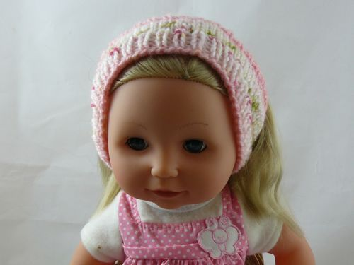 Ear Warmers For 16 Doll Knitted Tiny Tears Clothes Free