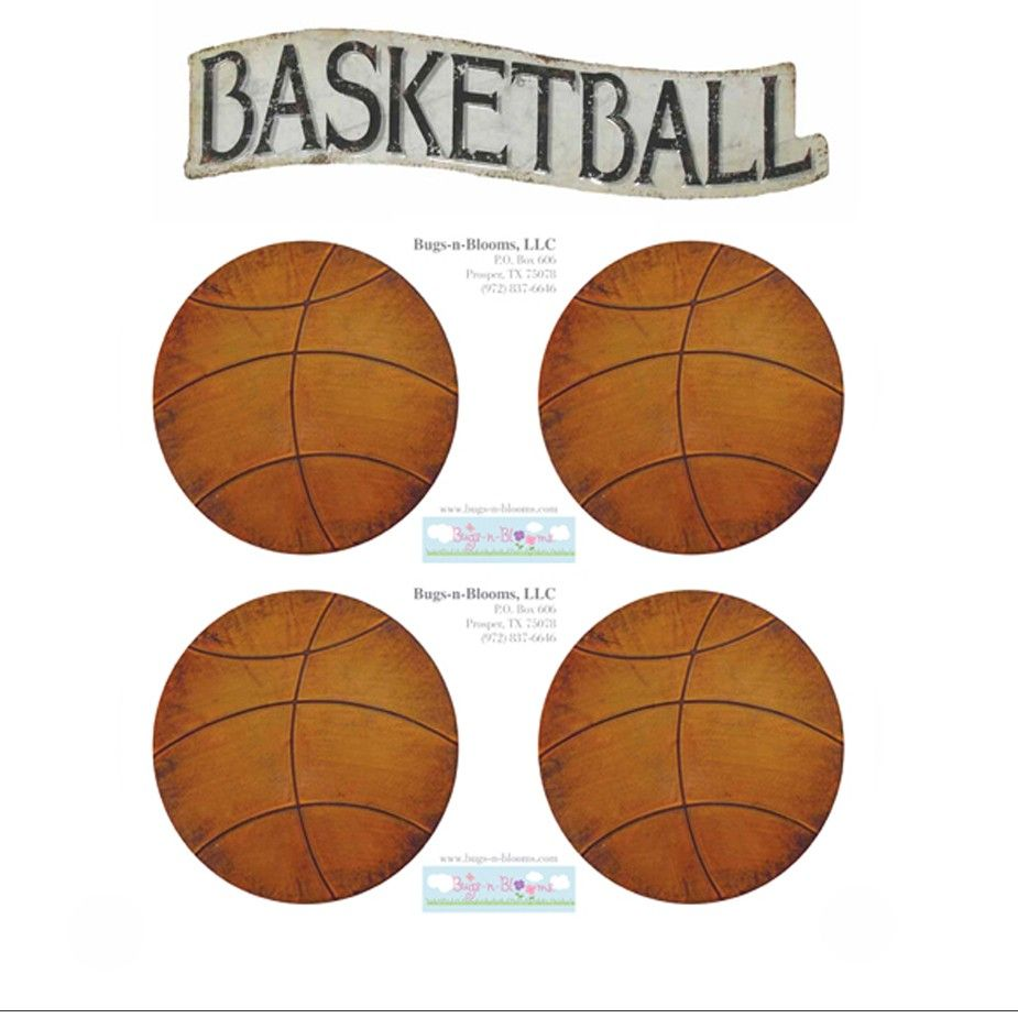 Basketball wall mural removable vinyl stickers sports wall basketball wall mural removable vinyl stickers sports wall decals amipublicfo Choice Image