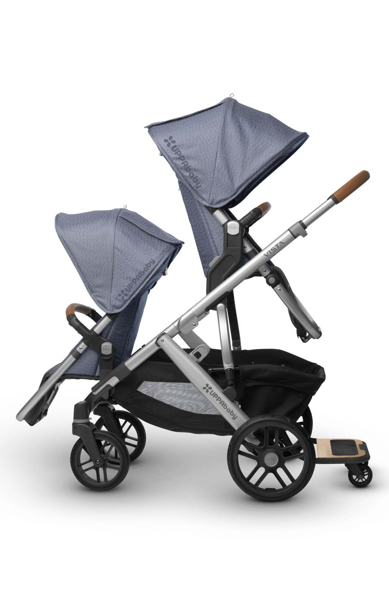 UPPAbaby 2017 VISTA Henry Aluminum Frame Convertible Stroller with Bassinet & Toddler Seat $899 99 Free Shipping