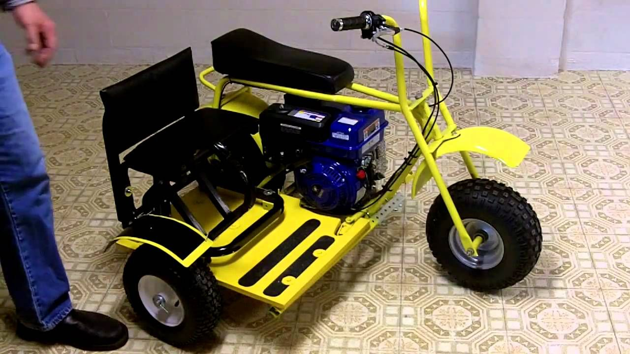 Mini bike baja doodle bug side car for the do it yourself average build a mini bike side car with common home tools and material from the local hardware store this side car is attached to the common doodle bug but will solutioingenieria Images