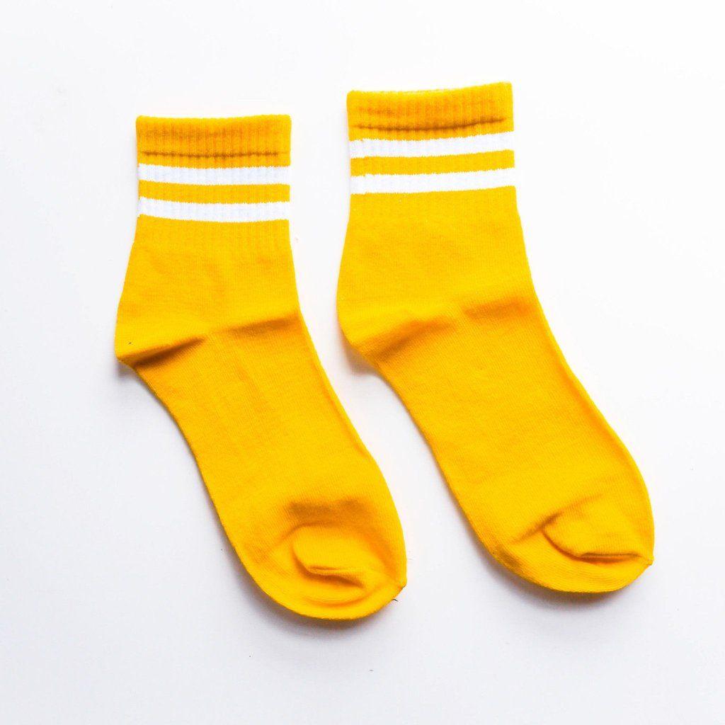 The yellow gym standard sock season y e l l o w pinterest