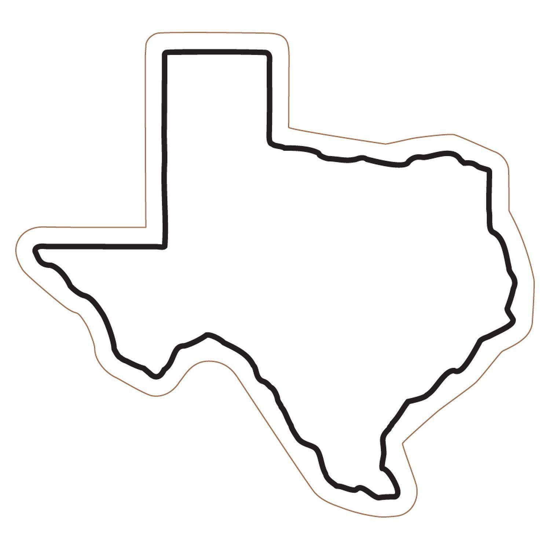 Texas outline map. Photos of clip art