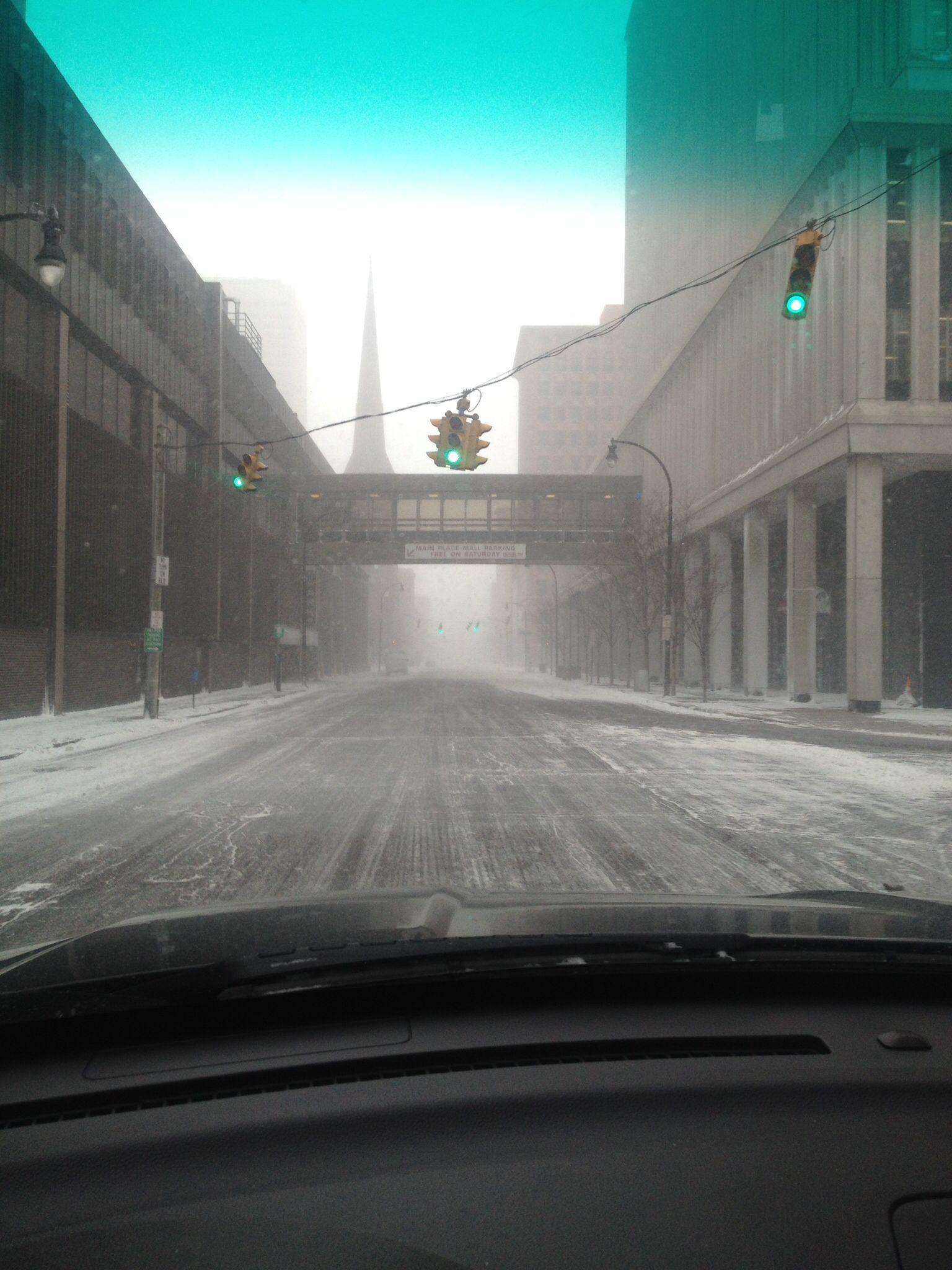 Franklin Street - Blizzard 2014