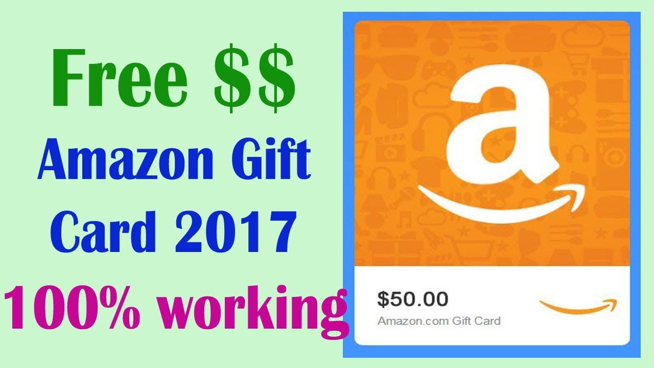 Amazon Gift Card Balance Free Amazon Gift Card Codes How To Get Free Free Amazon Products Amazon Gift Card Free Google Play Gift Card