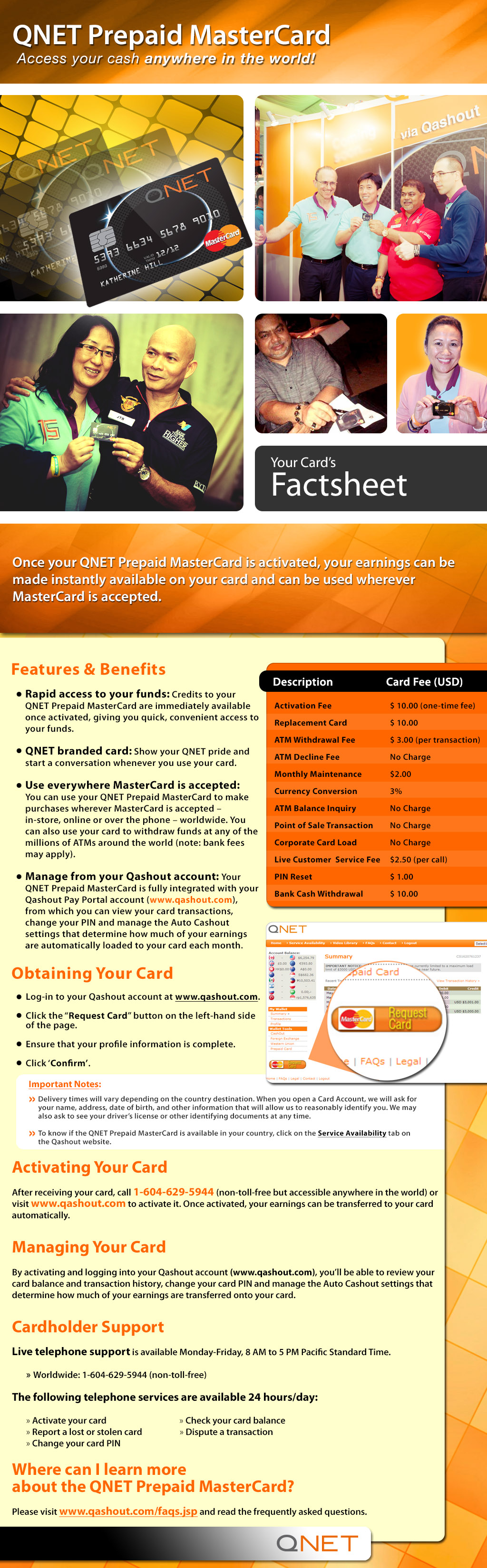 Everything you need to know about #QNET Prepaid #MasterCard ...
