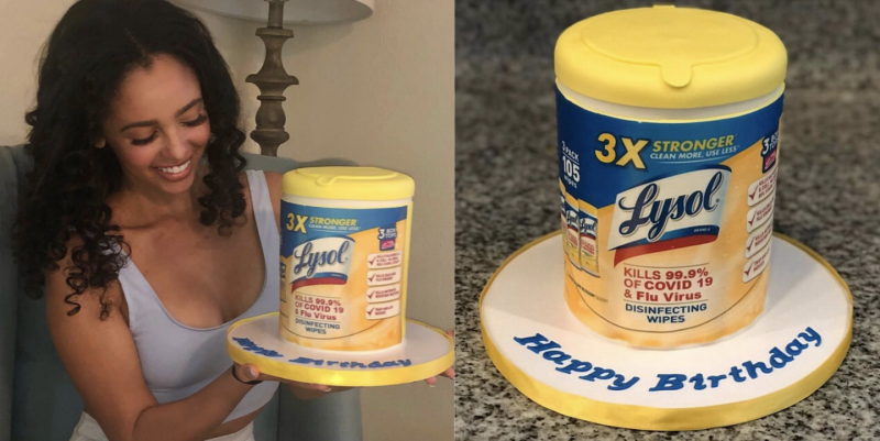 This Riverdale Star Got A Lysol Wipe Cake For Her Birthday