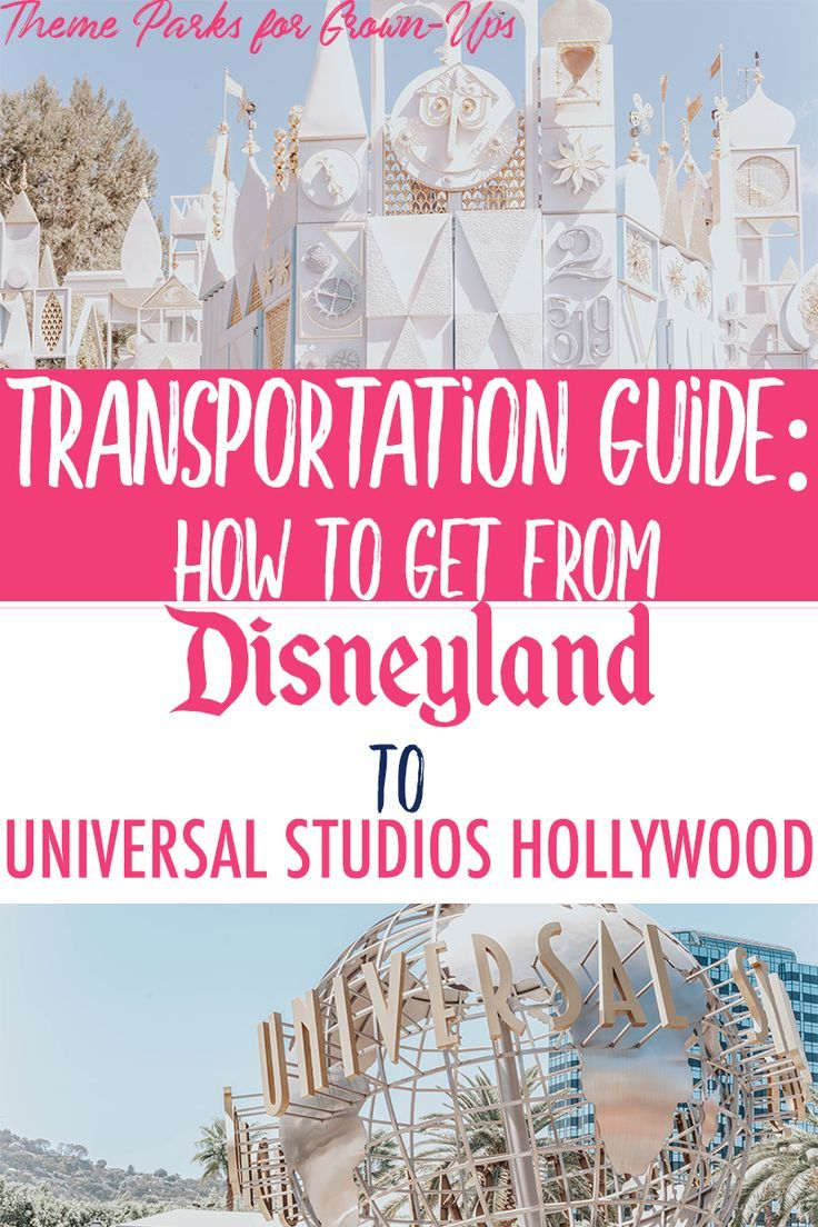 Transportation Guide How to Get from Disneyland to
