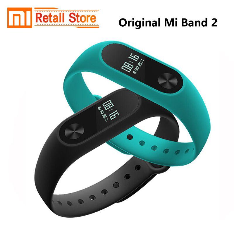 Xiaomi Mi Band 2 Heart Rate Fitness Tracker Smart Wristbands Oled Screen Ip67 Waterproof Fitness Tracker Fitness Tracker Bracelet Xiaomi