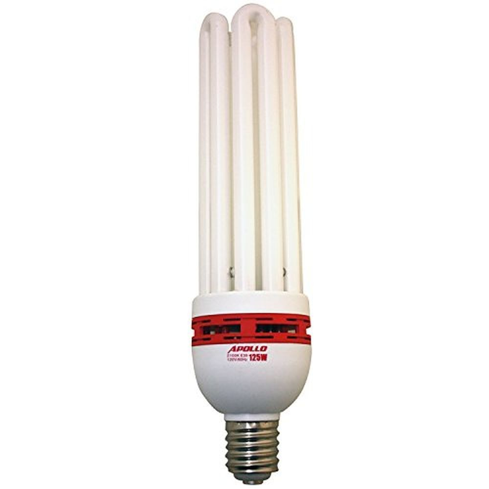 Compact Fluorescent Grow Light Bulb Of 2100k 125 Watt Cfl Medical Herbs Apollohorticulture With Images Grow