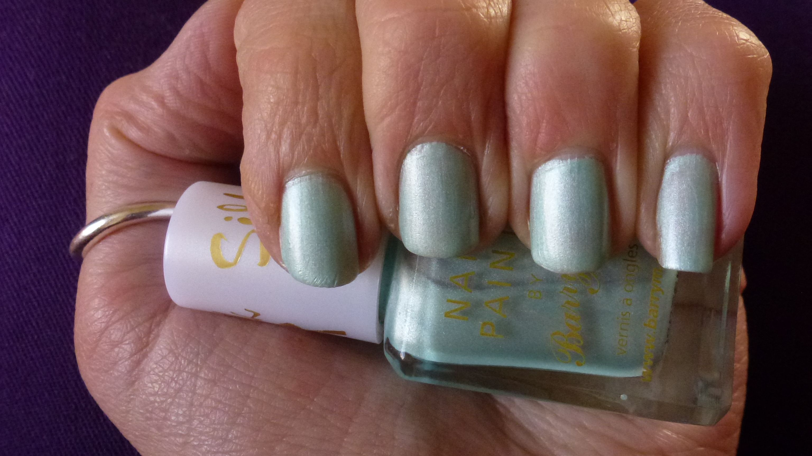 Barry M Silk effect Nail Paint in Meadow. For review click on piccy.