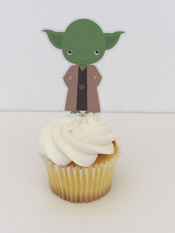Space Wars friends cupcake toppers por DianasDen en Etsy