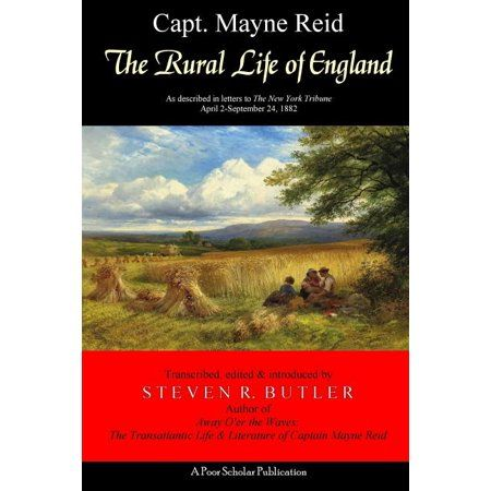 The Rural Life of England consists of twenty-six letters or articles that were written byVictorian-era author Capt. Mayne Reid, celebrated on both sides of the Atlantic for his adventurenovels, during the final full year that he and his wife Elizabeth resided at Frogmore, the countryhome they rented in Herefordshire, not far from the village of Ross-on-Wye and also theEnglish-Welsh border. Intended for an American readership, these informative, factual letterswere published at weekly intervals i