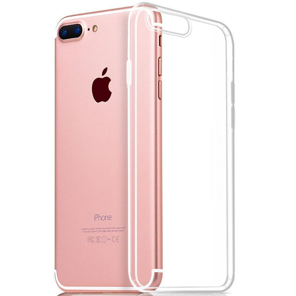 Iphone 8 Plus 7 Plus Case Soft Tpu Cover Case Shock Absorption Bumper And Anti Scratch Clear Back For Iphone 8 Iphone Iphone 6s Apple Case Mobile Phone Cases
