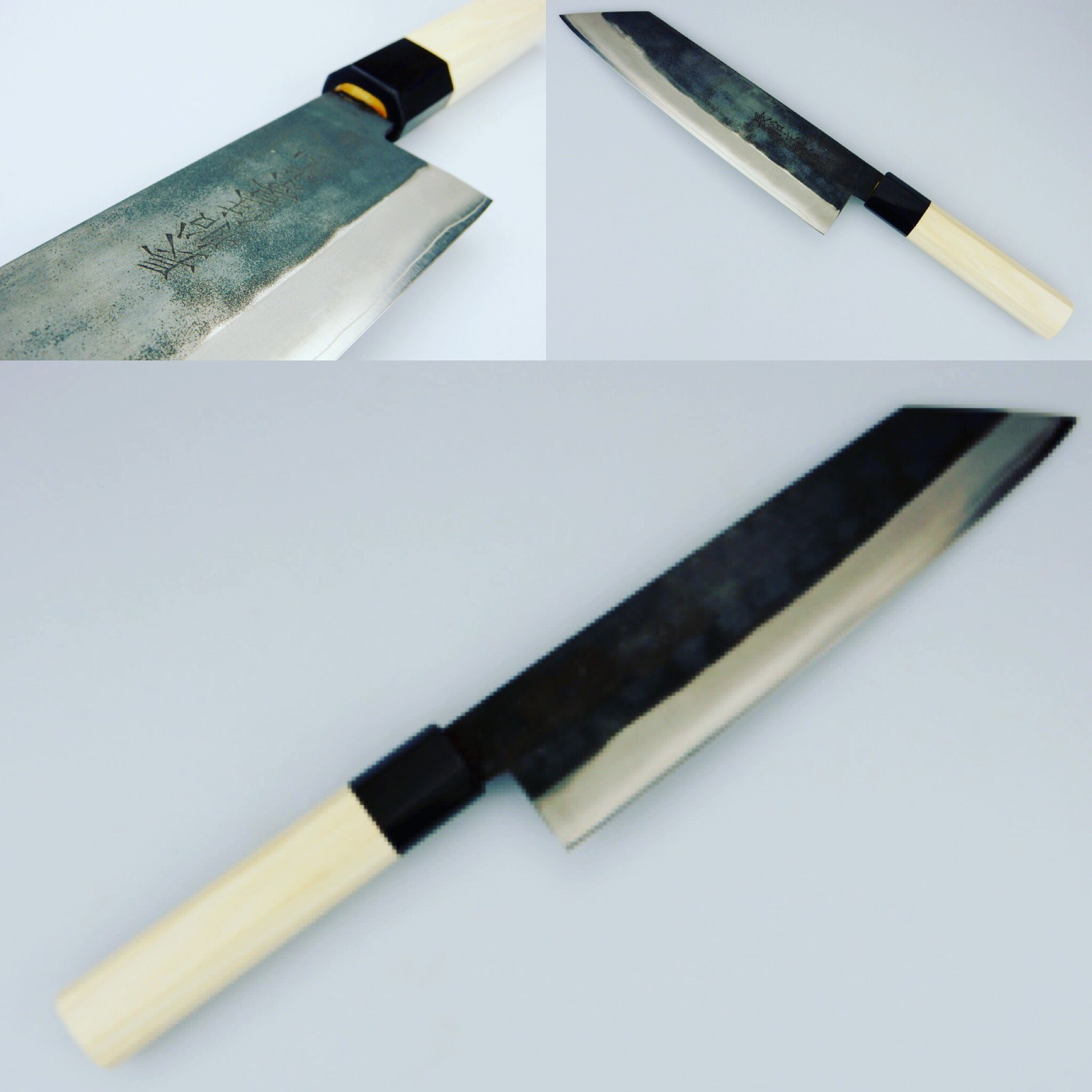 Kagemitsu Bunka, made from ZDP-189 steel. Handforged by our master ...