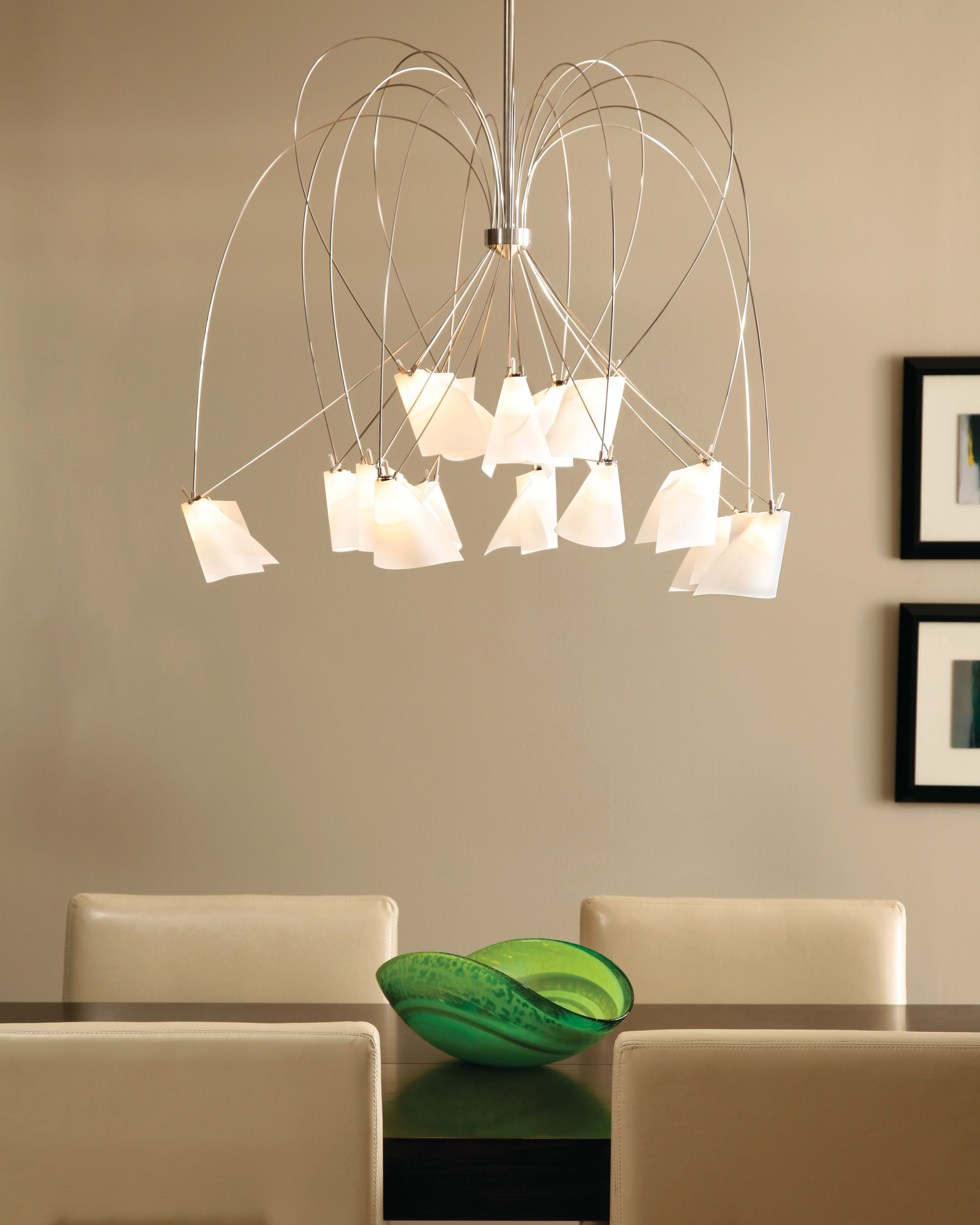 whimsical lighting fixtures. Rhapsody From Tech Lighting Has Fifteen Whimsical Arms Surrounding Its Central Core. Each End Is Fixtures