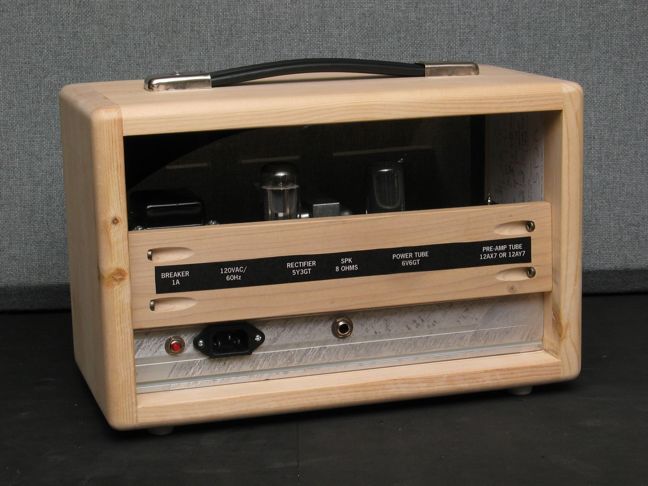 build your own amp head cabinet cabinets matttroy. Black Bedroom Furniture Sets. Home Design Ideas