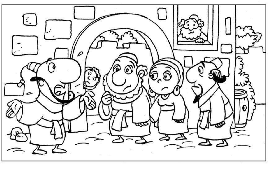 Jonah Coloring Pages Colorine
