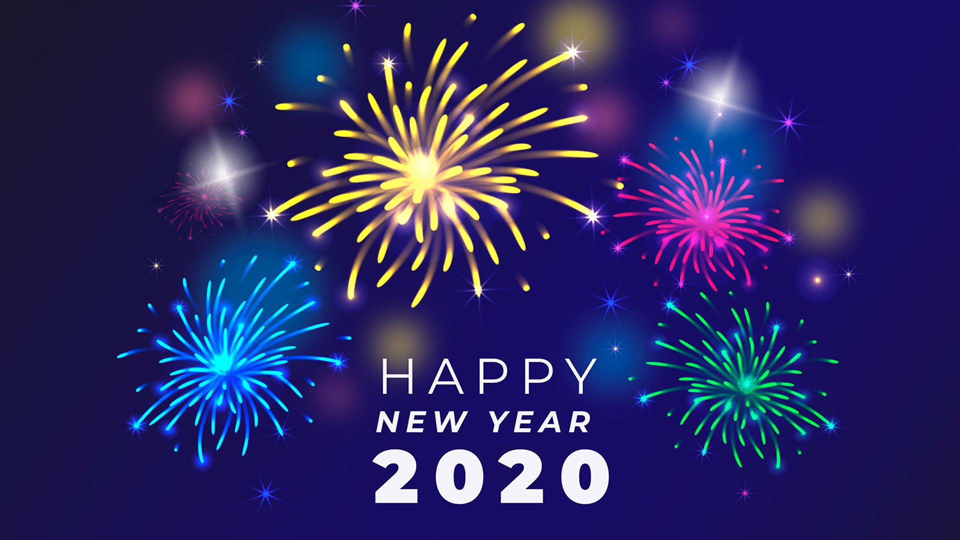 Happy New Year 2020 HD Wallpapers, Photos, Images Free