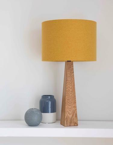 Mustard Yellow Table Lamp   Https://www.hunkydoryhome.co.uk