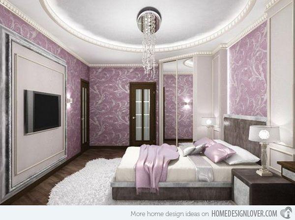 Charmant Room · 15 Ravishing Purple Bedroom Designs ...