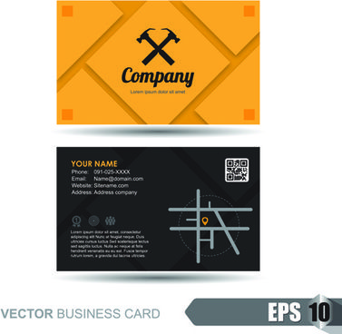 company letterhead template free vector download and visiting card - letterhead example