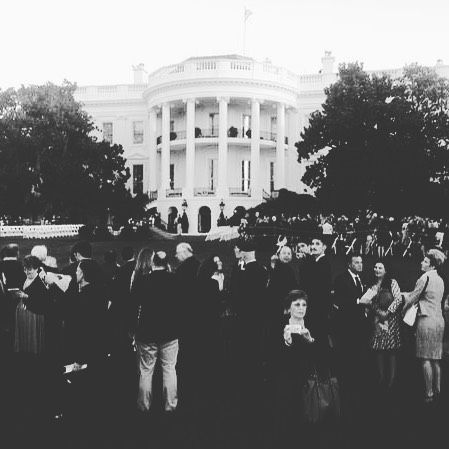Today, we make history | Pope in DC | #PopeInDC | The White House | Pennsylvania Avenue