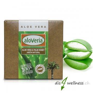 Aloe Vera Creme Selber Herstellen : aloveria aloe vera seife mit palmhonig 80g aloe vera ~ Watch28wear.com Haus und Dekorationen