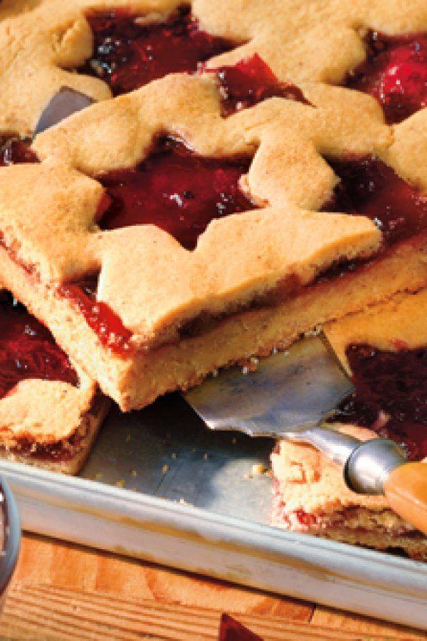 Weihnachtsplätzchen Vom Blech.Linzer Lebkuchen Vom Blech Herrlich Weihnachtlich Navidad