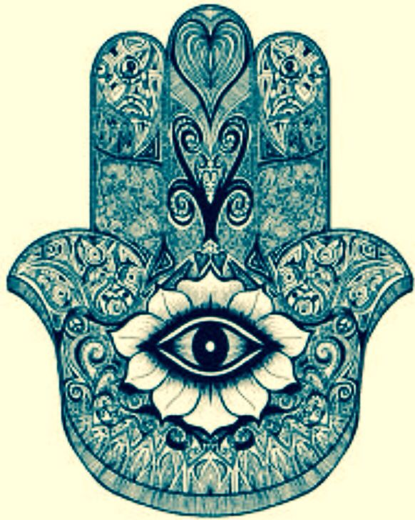 I Believe In The Hindu Hand Which Keeps Away Evil Spirits