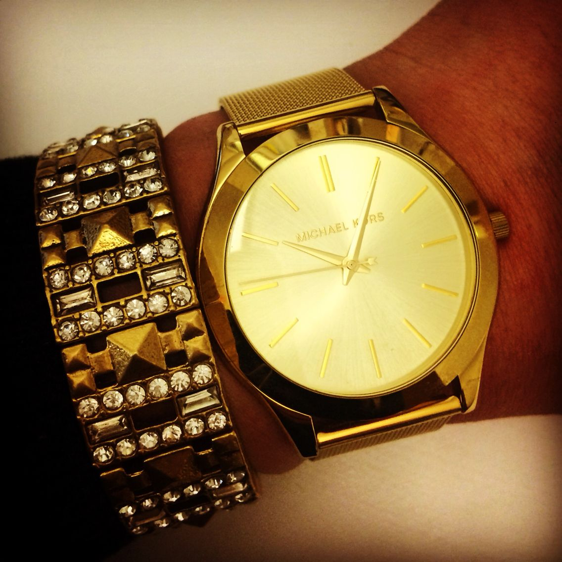 Layering with watches!