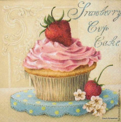 Pin de anabela carri o en cupcakes pinterest rosas - Laminas decorativas vintage ...