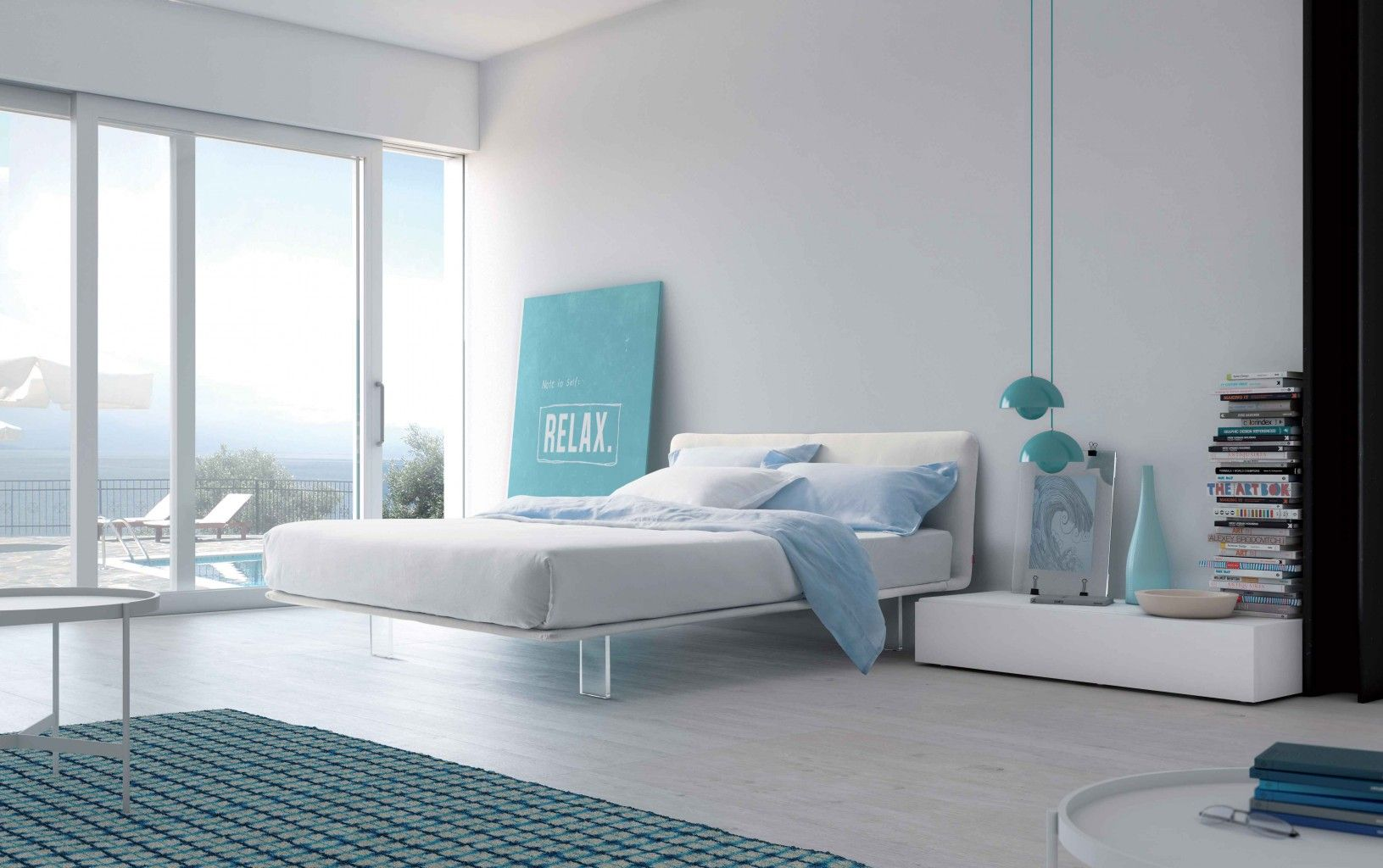 Magnetic floating beds pianca furniture  pianca design made in italy mobili furniture casa