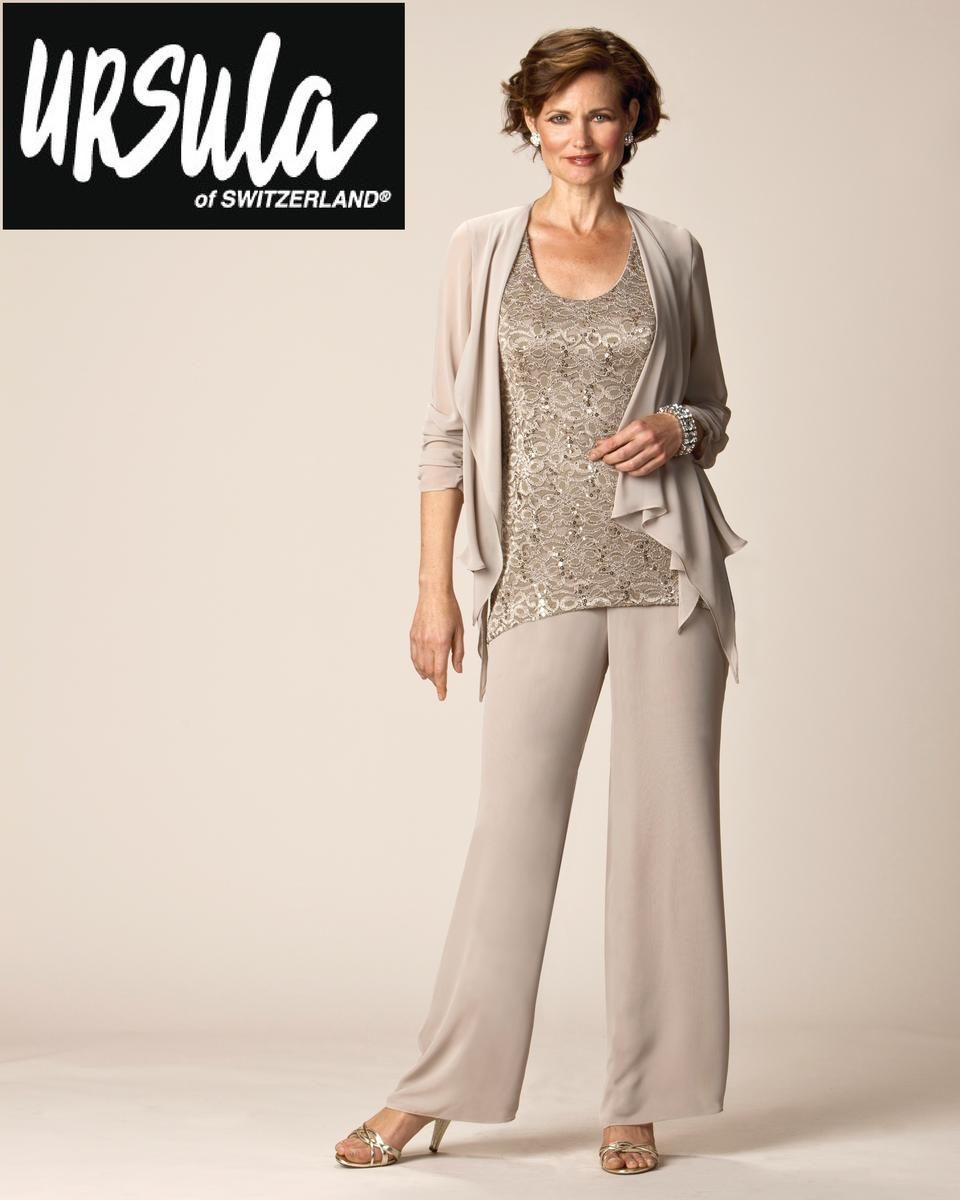 Silver Pantsuit Plus Size