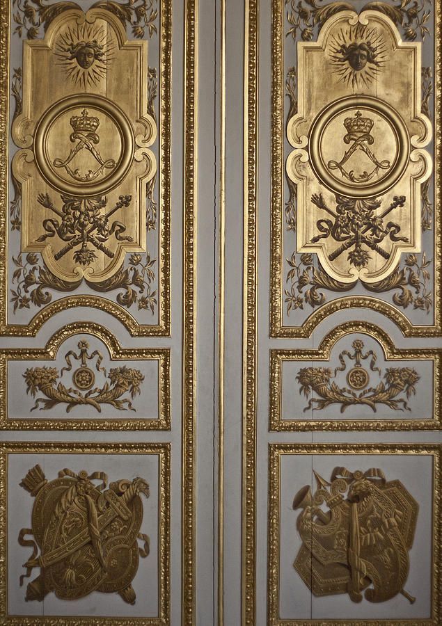 Fine art photography Versailles Door by Georgia FowlerOne of the opulent doors at the Palace of Versailles in France & Behold I stand at the door and knock...u0027 Revelation 3:20 | My Royal ...