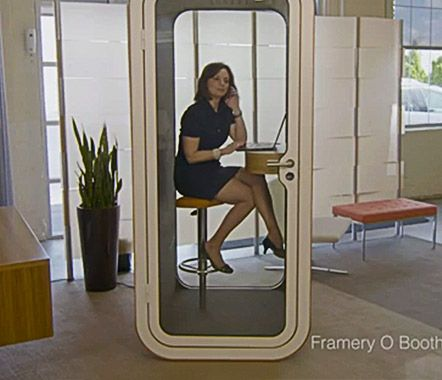 Framery acoustic phonebooth the rje office new for Accenture toronto office