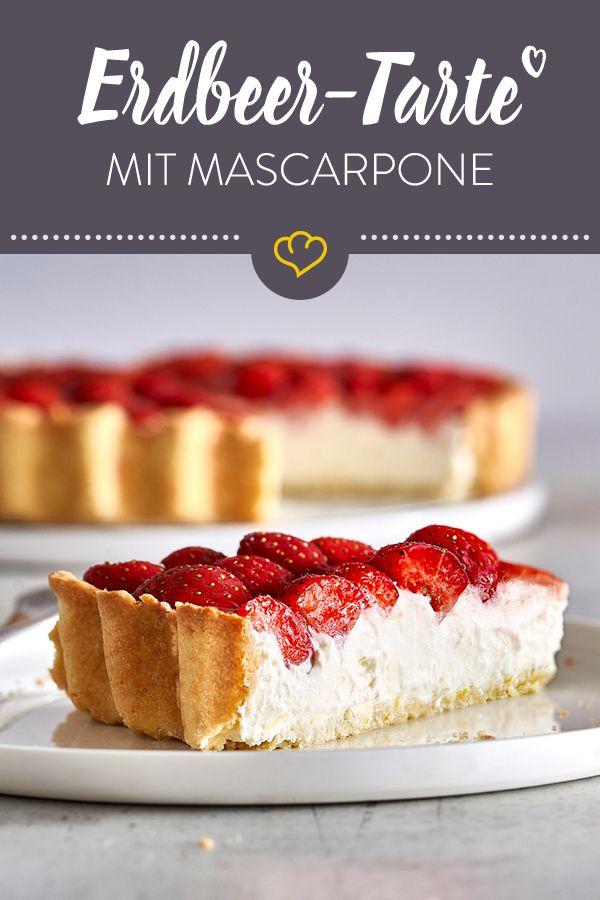 Photo of Strawberry mascarpone cake with shortcrust pastry and lemon cream