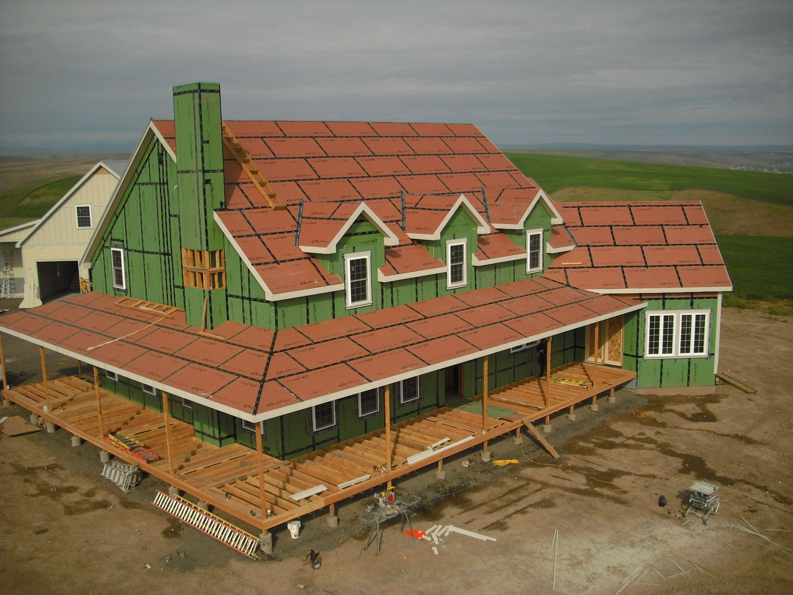 We Have To Hand It To The People At Huber For Coming Up With A Truly Great Product The Zip System Replaces Conventional Tyvek Wraps With A Roof Sheathing Plywood