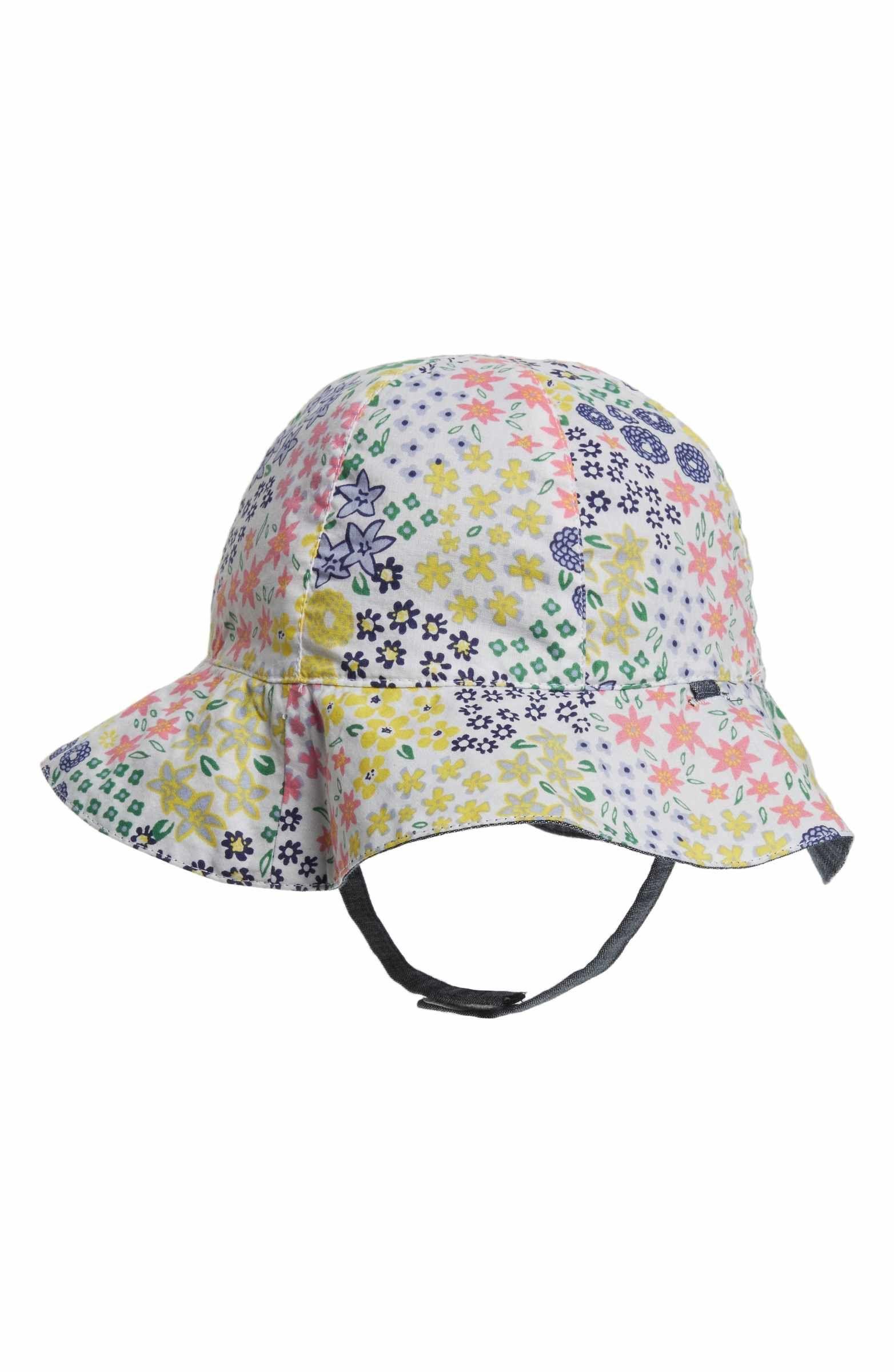 9a9cbdcdd0e Main Image - Tucker + Tate Reversible Sun Hat (Baby Girls)