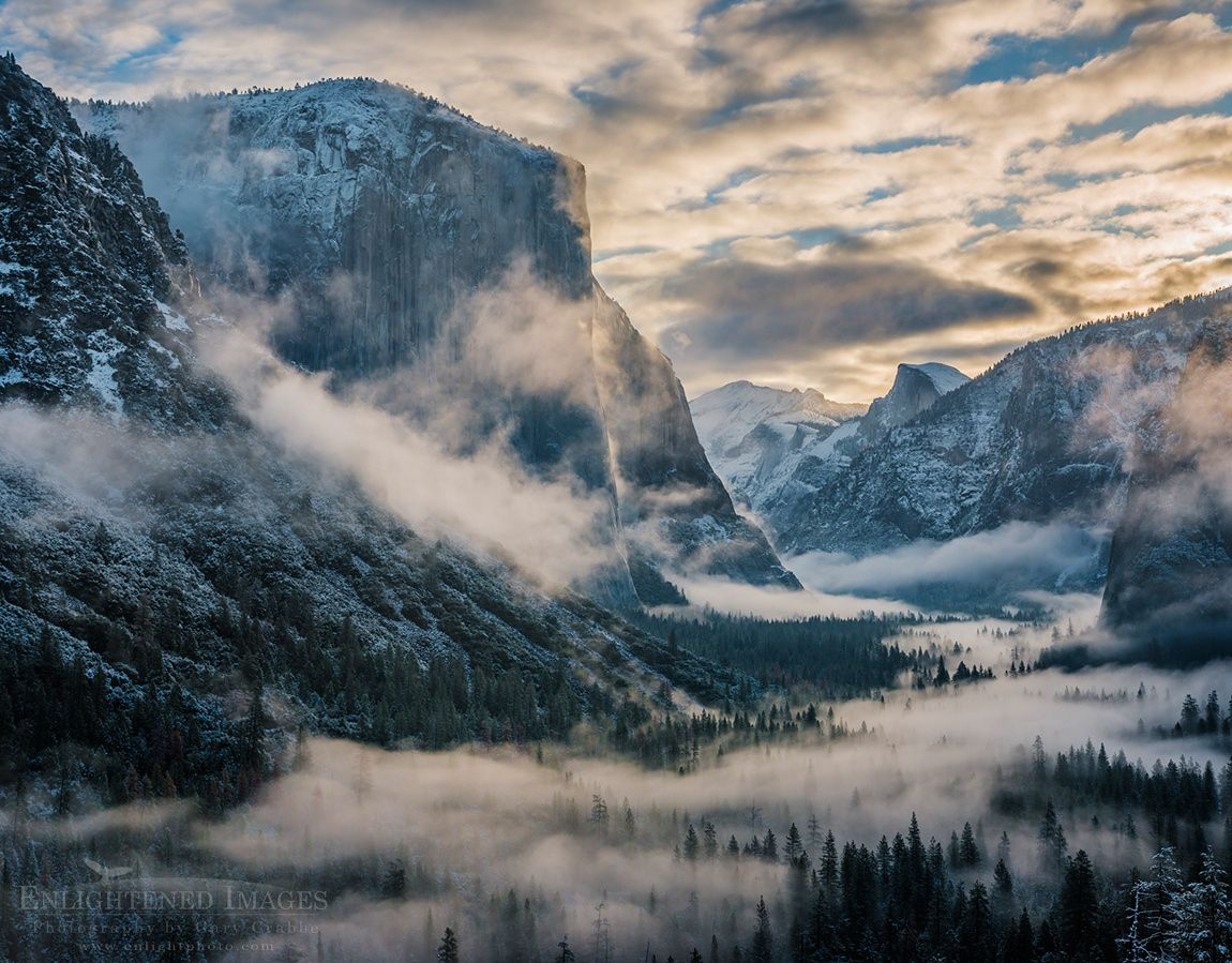 Clearing spring storm over Yosemite Valley by Gary Crabbe on 500px