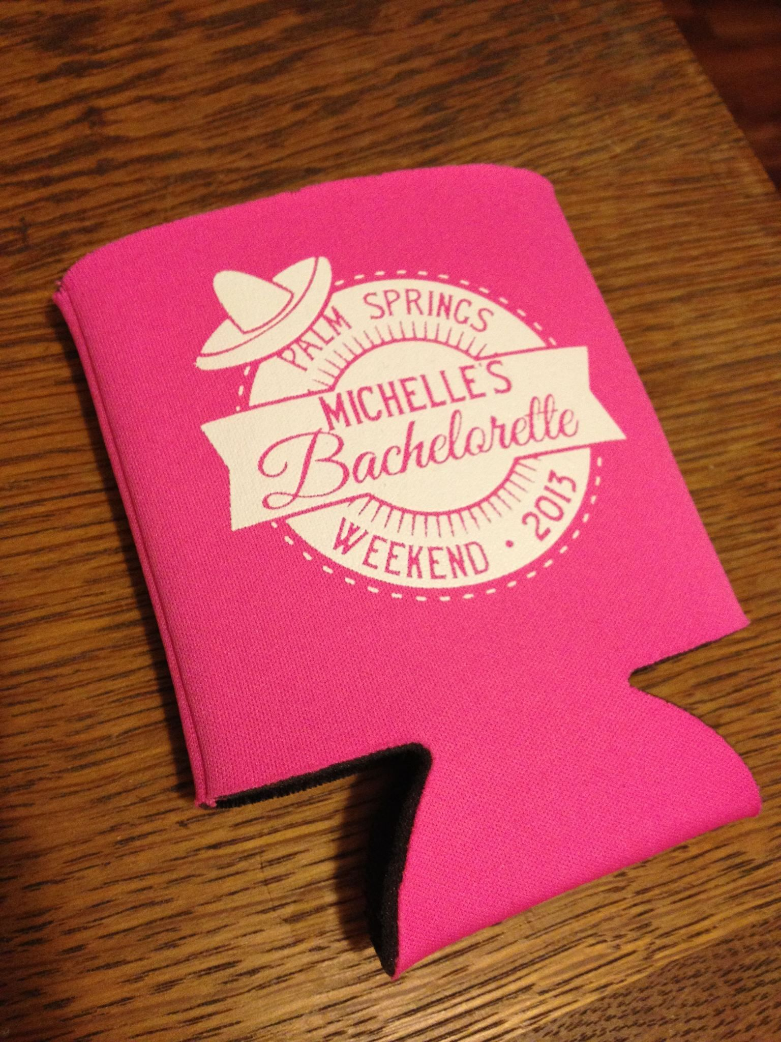 Sombrero Bachelorette Party Koozie Get Your Free Koozie Proof on ...