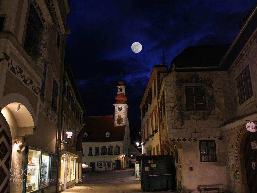 My Home Town - Deep Blue by wrejzlik