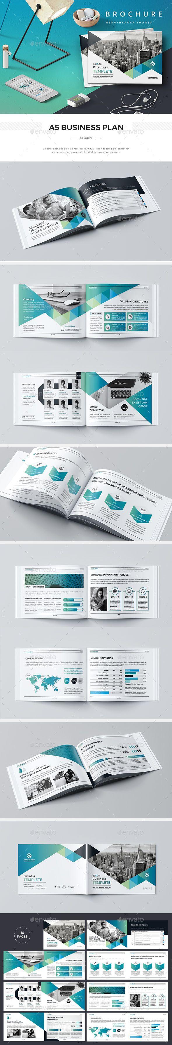 A Company Profile Company Profile Corporate Brochure And A - Company profile brochure template