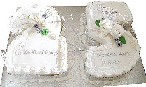 Th wedding anniversary cakes ideas anniversary