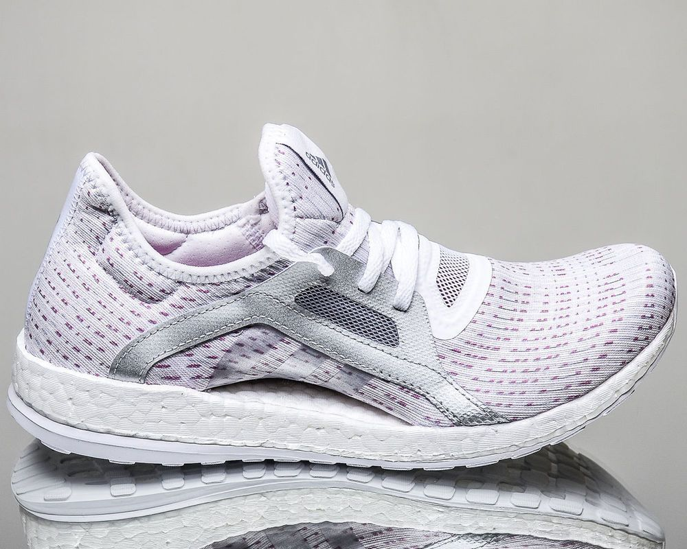 NEW ADIDAS PURE BOOST X ELEMENT WHITE WOMEN'S RUNNING SHOES BB6084 | eBay